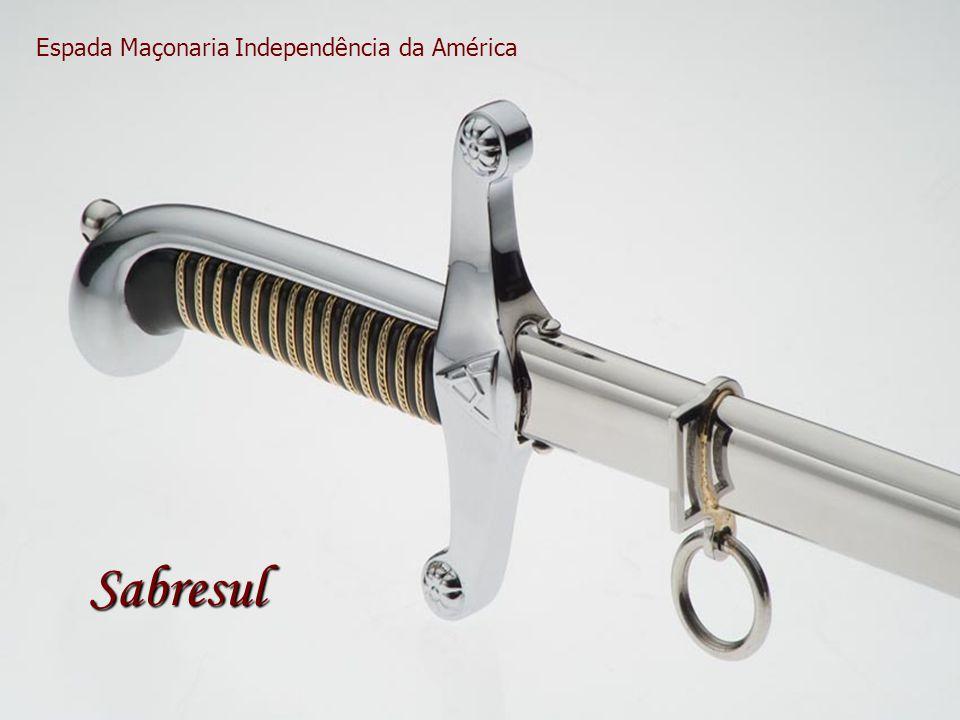 Espada Maçonaria Independência da América Sabresul