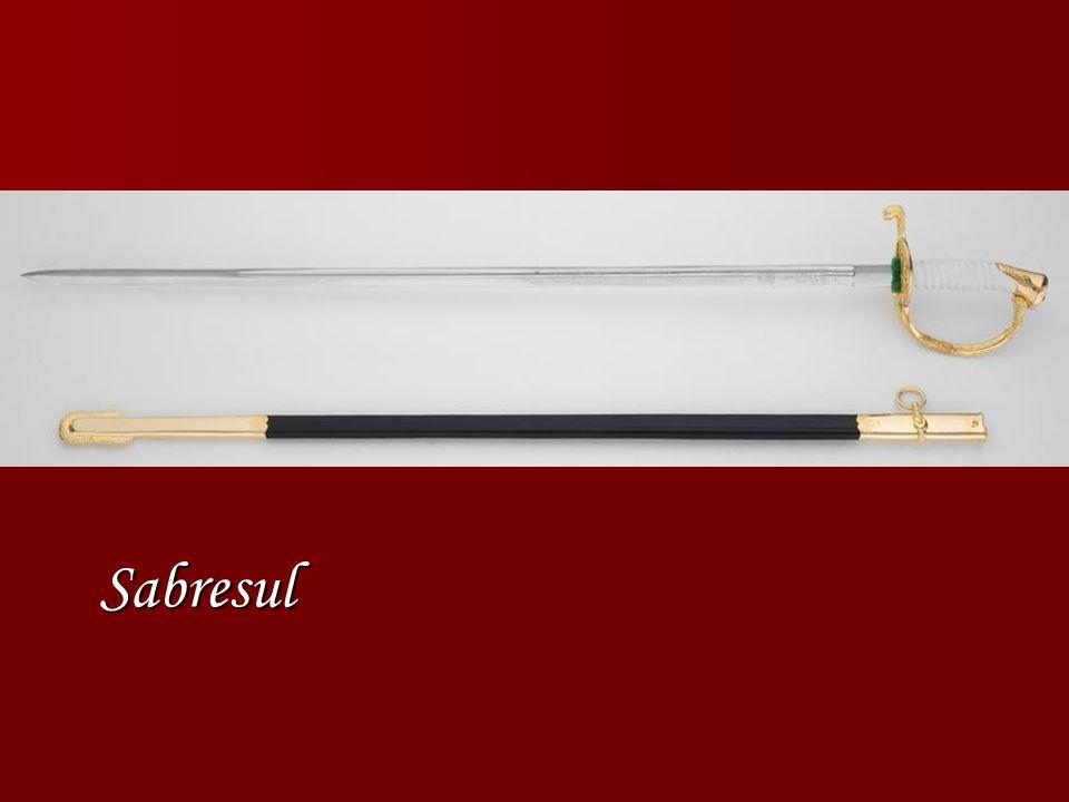 Sabresul Espada cabo de madeira