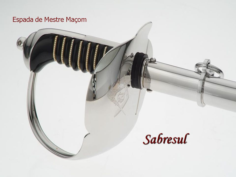 Espada de Mestre Maçom Sabresul