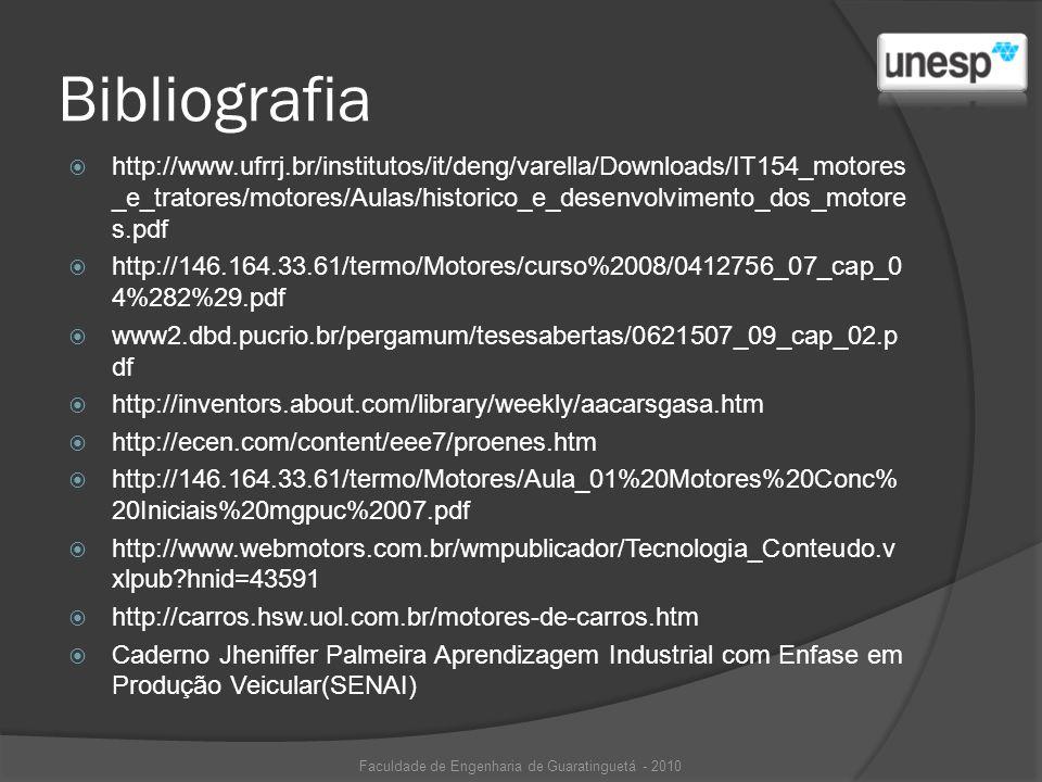Bibliografia http://www.ufrrj.br/institutos/it/deng/varella/Downloads/IT154_motores _e_tratores/motores/Aulas/historico_e_desenvolvimento_dos_motore s