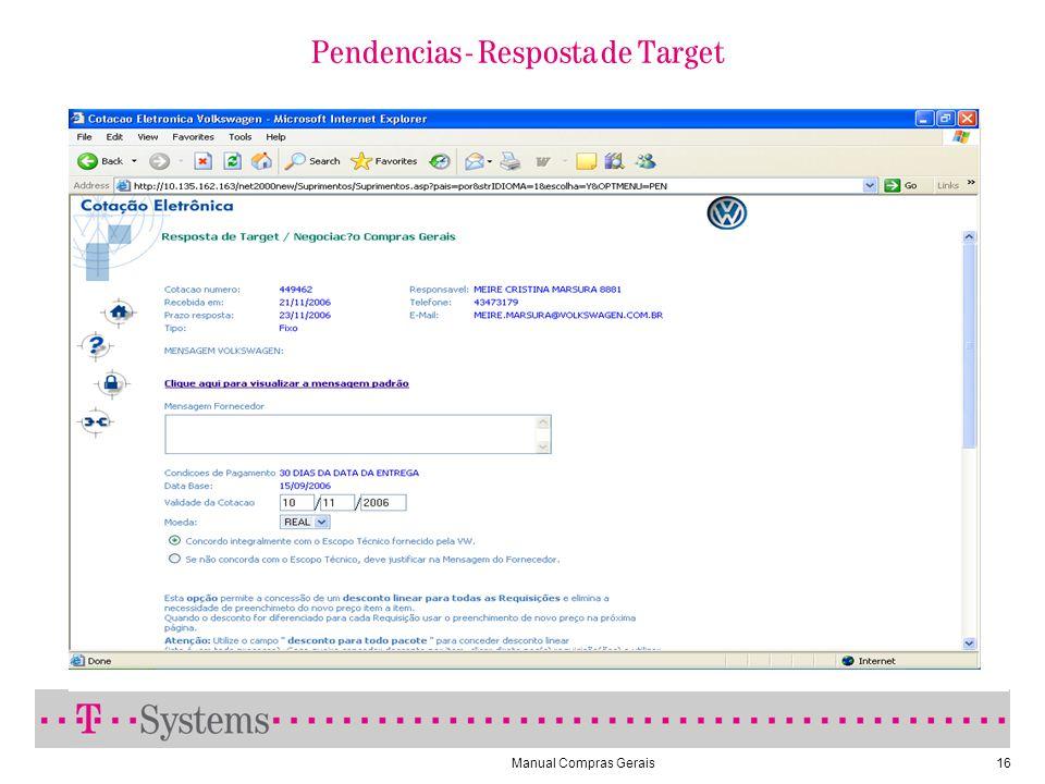 Manual Compras Gerais16 Pendencias - Resposta de Target
