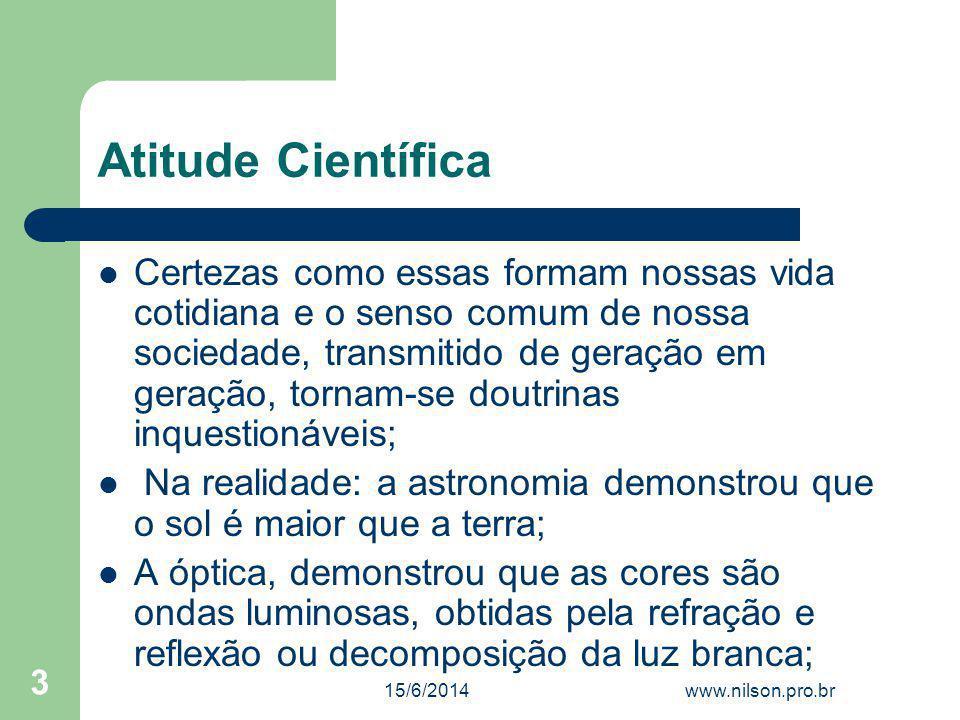 Características do Senso Comum C.