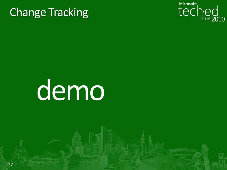 27 Change Tracking