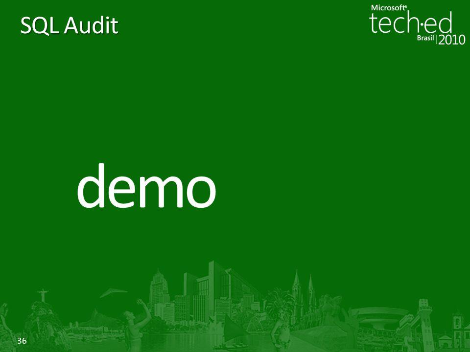 36 SQL Audit