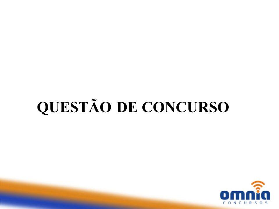 QUESTÃO DE CONCURSO