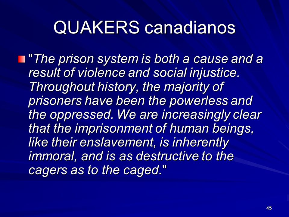 45 QUAKERS canadianos