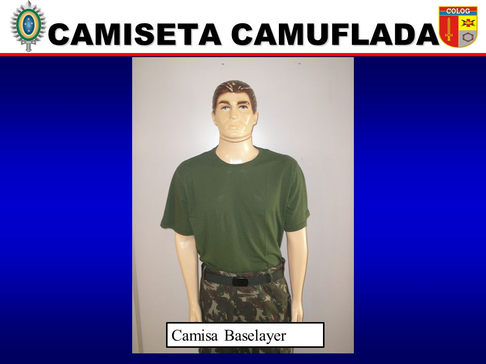 CAMISETA CAMUFLADA Camisa Baselayer