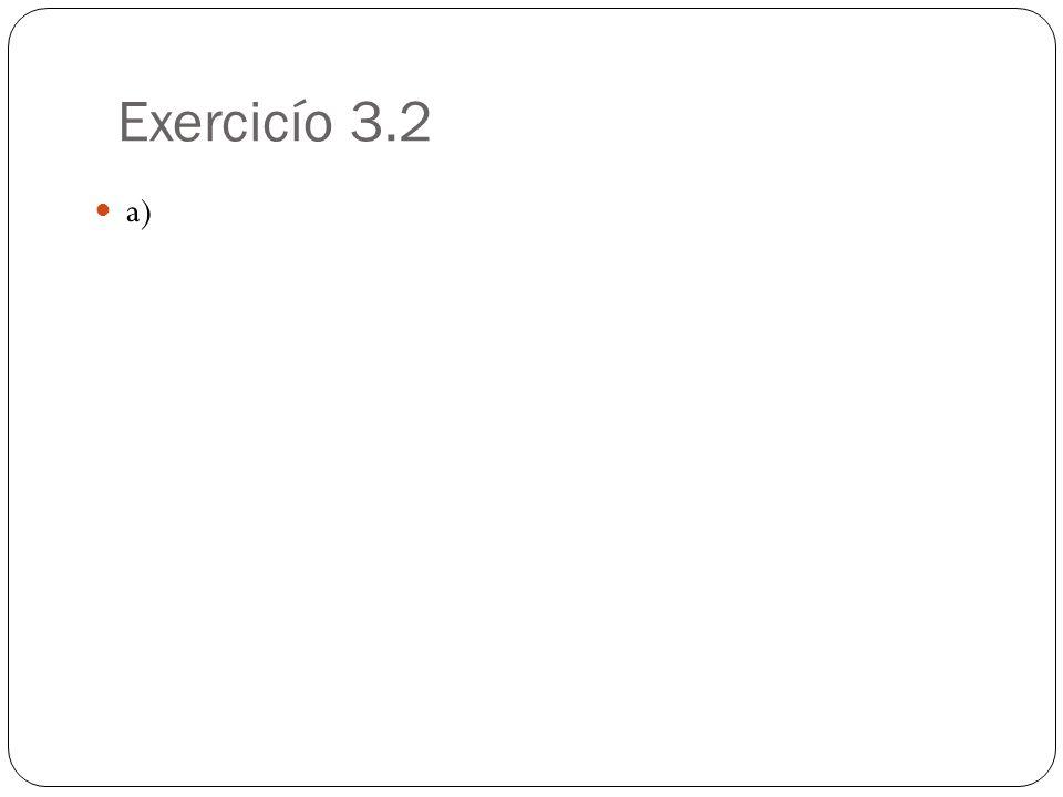 Exercicío 3.2 a)