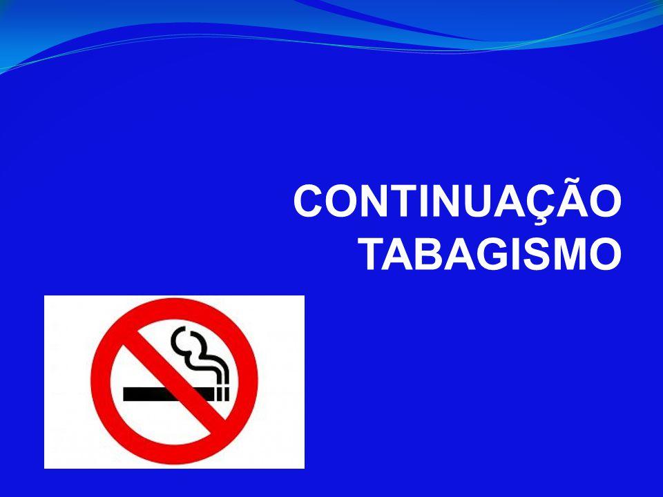 CONTINUAÇÃO TABAGISMO