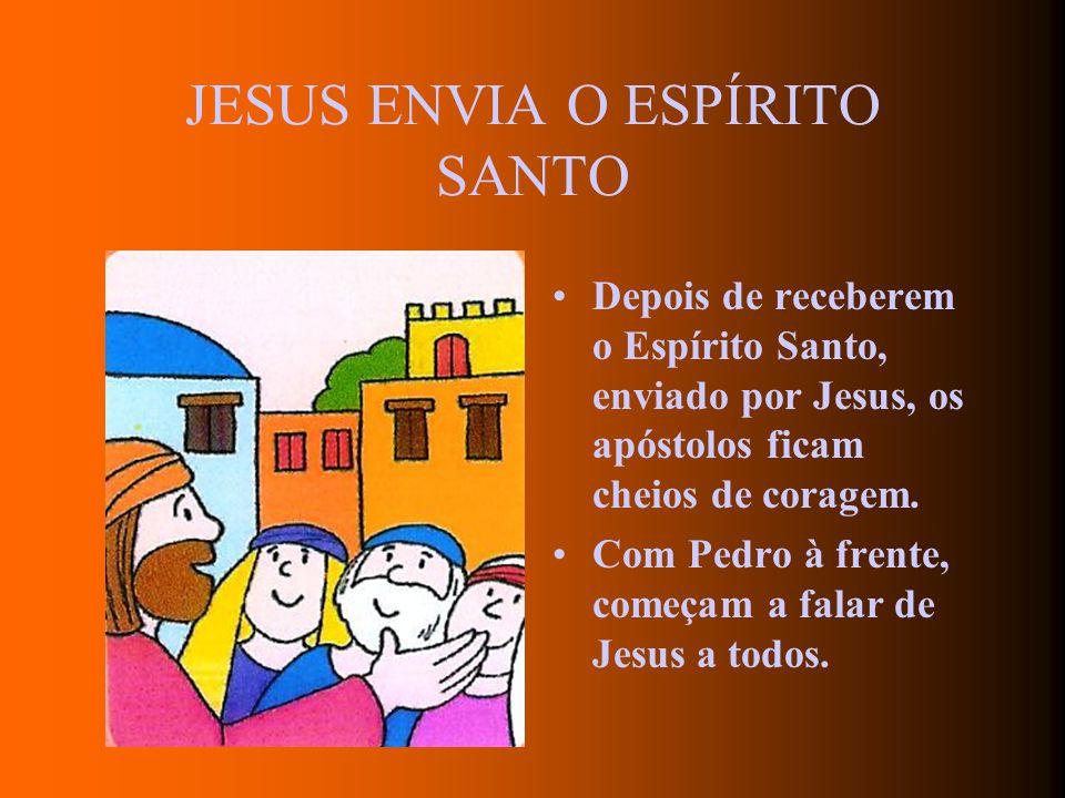 JESUS CONFIA A SUA IGREJA A PEDRO Depois de ressuscitar, Jesus pergunta a Pedro: Pedro, tu és meu amigo? Por três vezes Pedro responde que sim: Senhor