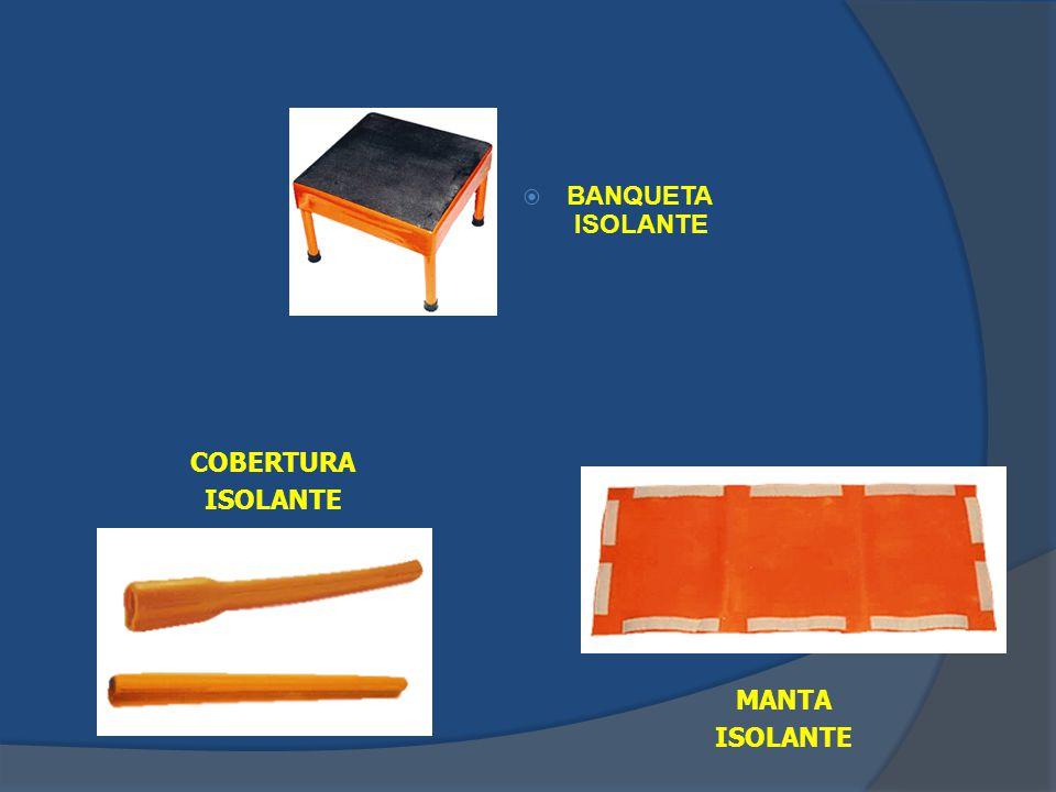 BANQUETA ISOLANTE MANTA ISOLANTE COBERTURA ISOLANTE