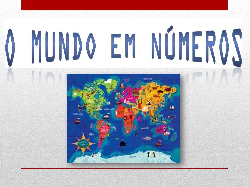 População mundial: 7 biliões de pessoas 1 bilião e 200 milhões Católicos 2 biliões e 200 milhões Cristãos nas diversas confissões religiosas