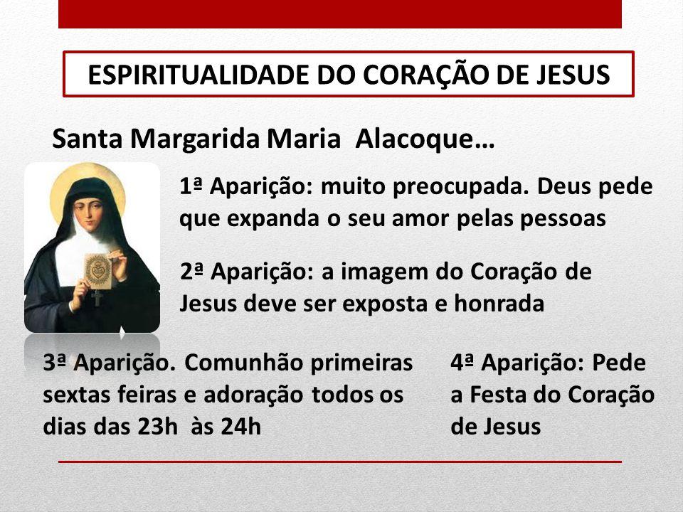 PALAVRAS DO CORAÇÃO DE JESUS 1.Espiritualidade como experiência do encontro com Deus 2.