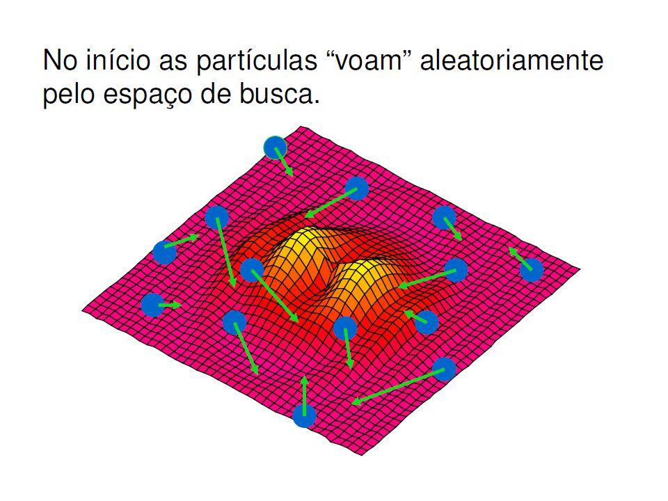 PSO Elementos do algoritmo: A : população de agentes.