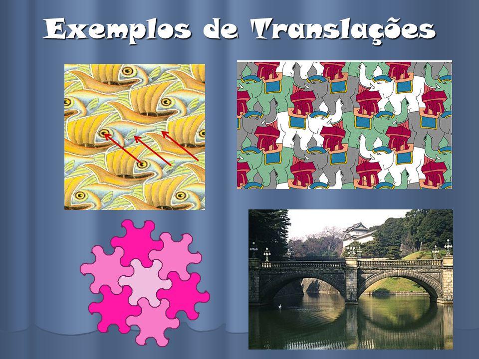 Exemplos de Translações