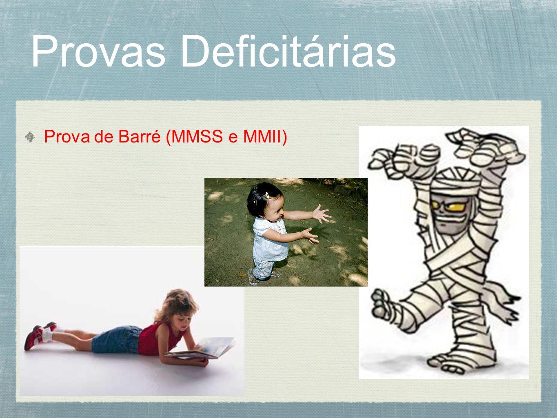 Prova de Barré (MMSS e MMII)