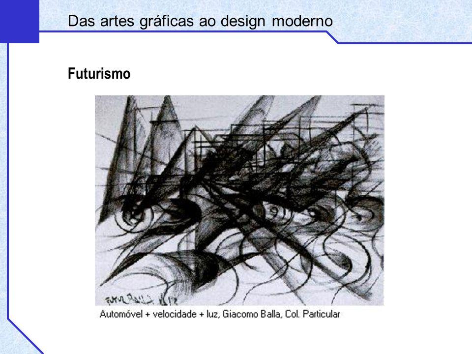 Futurismo Das artes gráficas ao design moderno