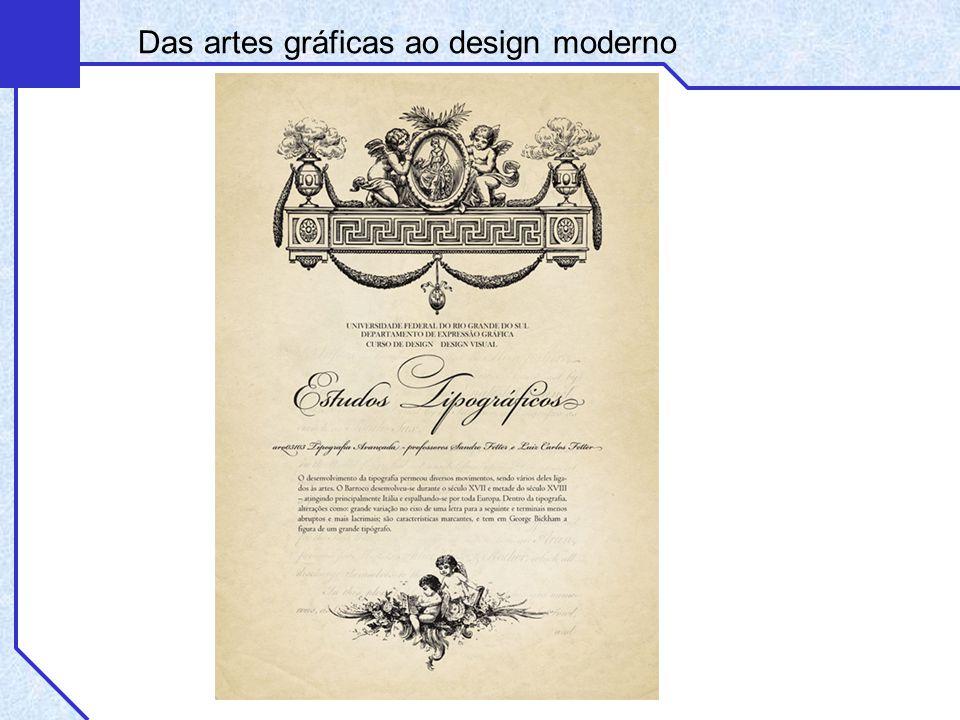 Bauhaus Das artes gráficas ao design moderno
