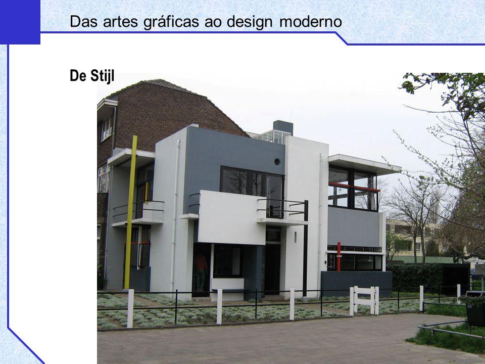 Das artes gráficas ao design moderno De Stijl