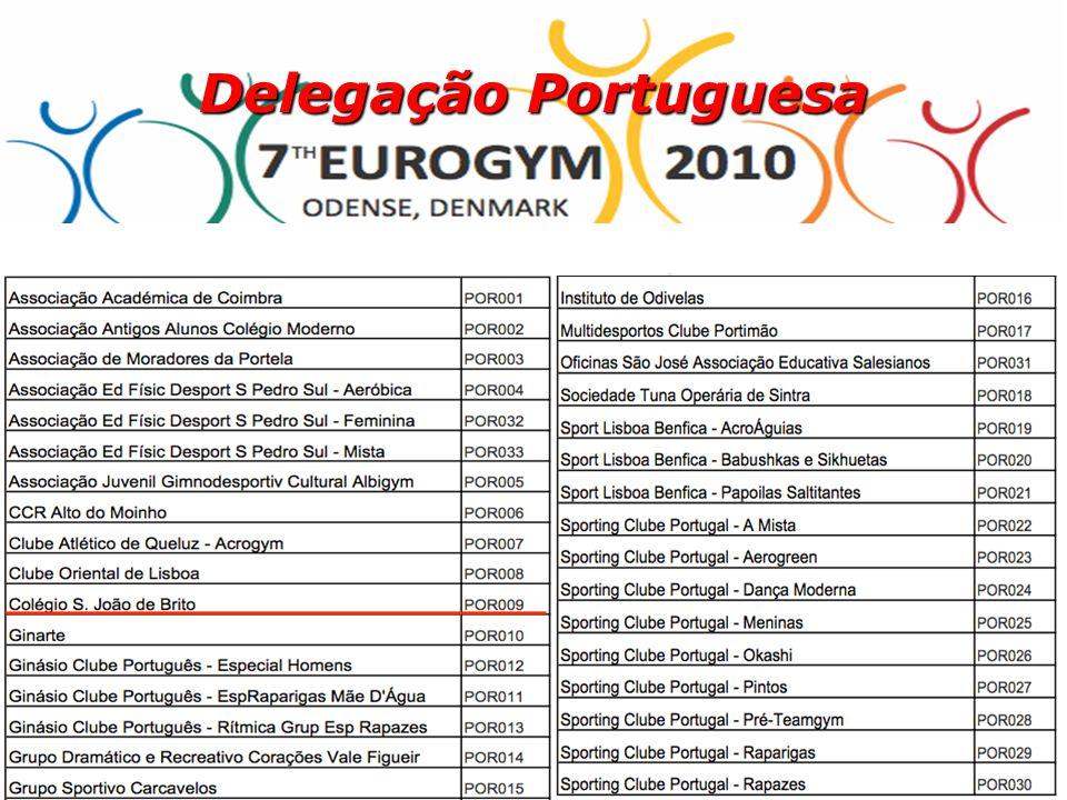 5 Delegação Portuguesa