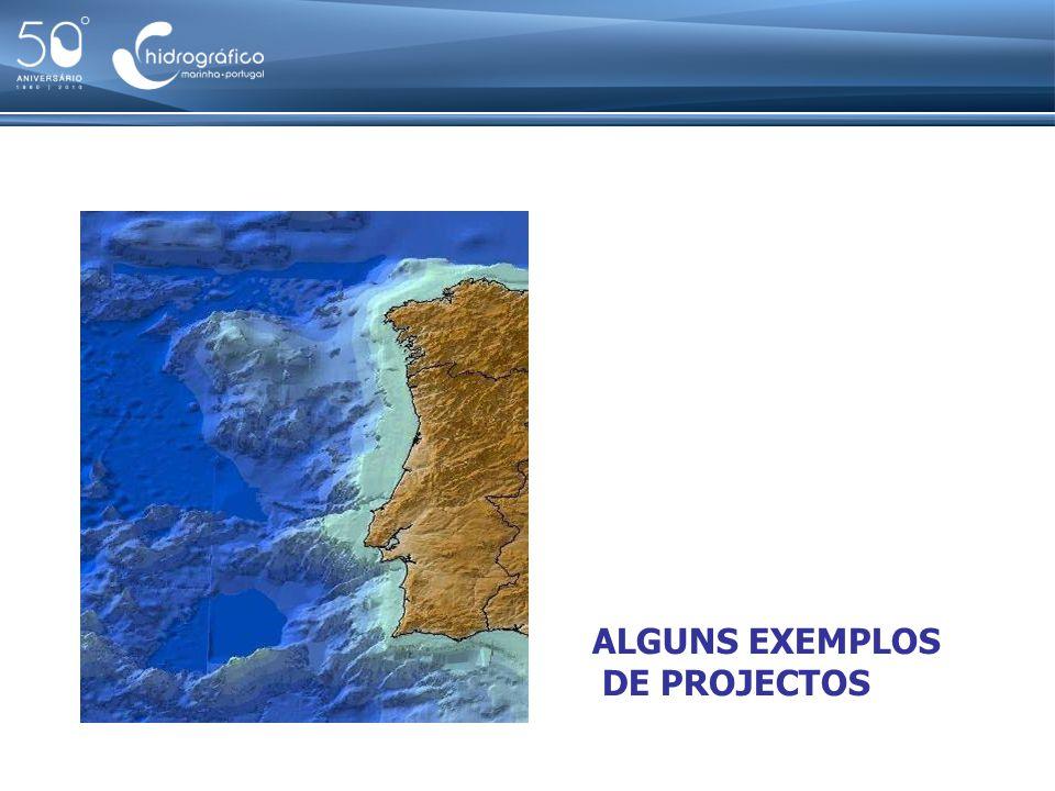 Exemplos de projectos em desenvolvimento ALGUNS EXEMPLOS DE PROJECTOS