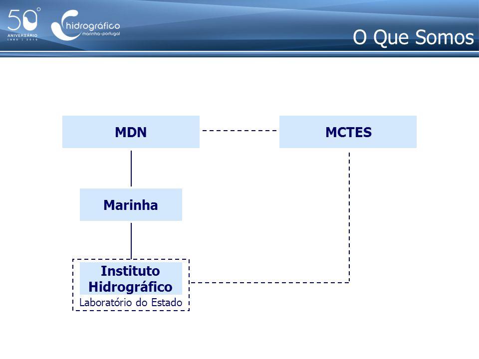 MDNMCTES Marinha Instituto Hidrográfico Laboratório do Estado O Que Somos
