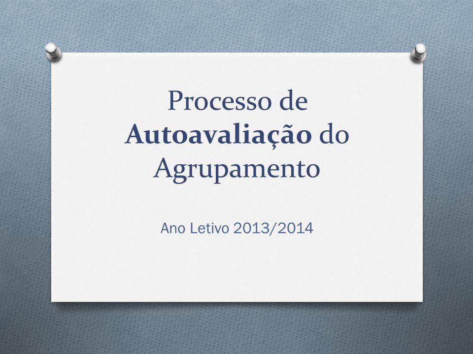 Processo de Autoavaliação do Agrupamento Ano Letivo 2013/2014