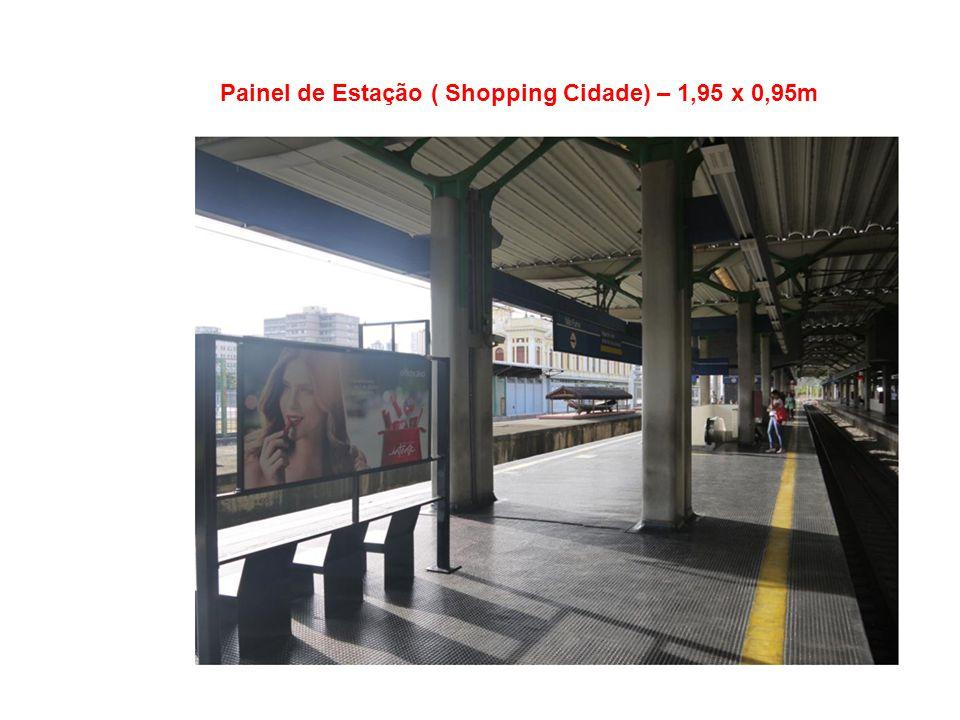 Painel de Estação Santa Efigênia ( Shopping Boulevard) – 1,95 x 0,95m
