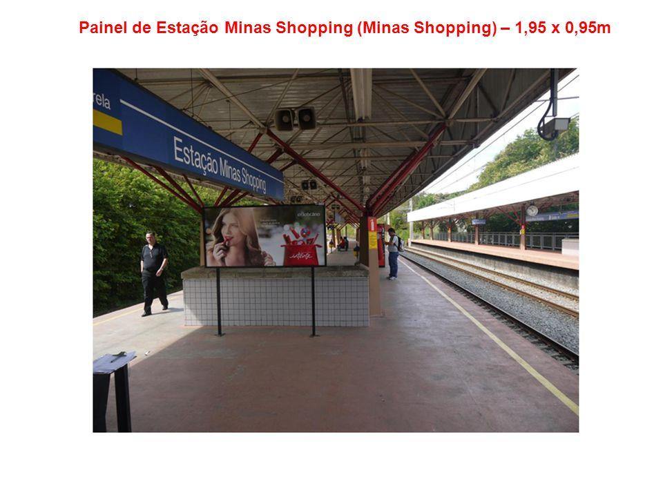 Painel de Estação Vilarinho (Shopping Estação BH) – 1,95 x 0,95m