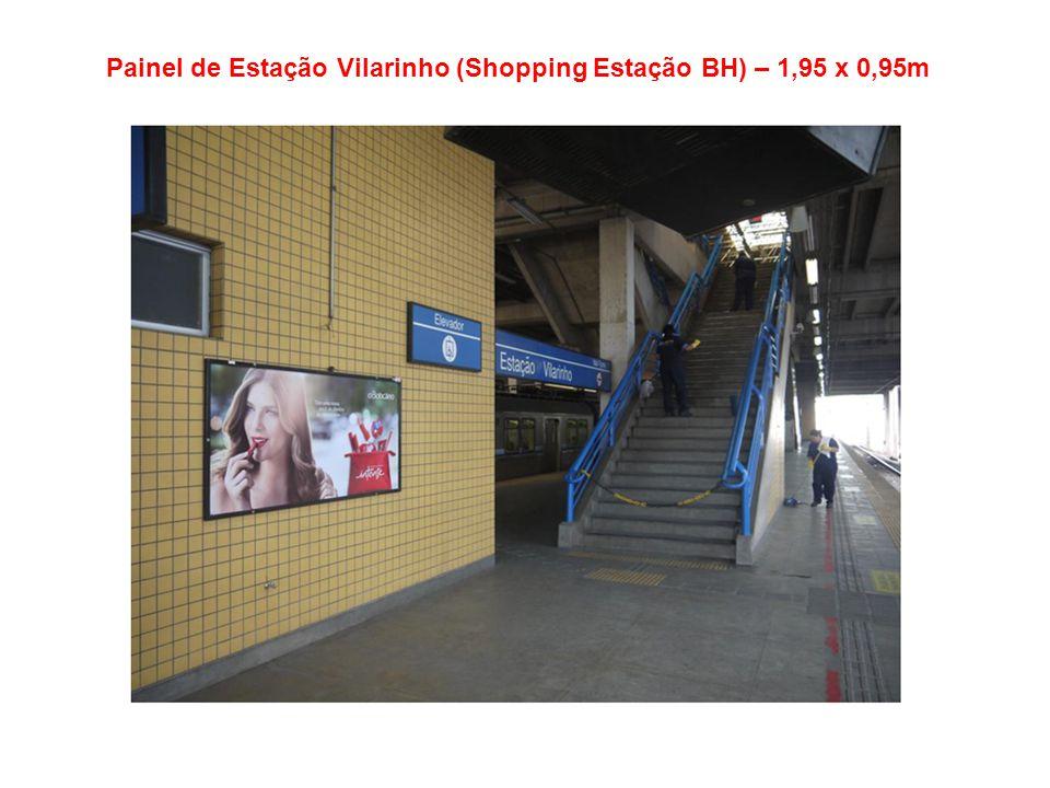 Painel de Estação Eldorado (Itaú Power Shop * Big Shopping) – 1,95 x 0,95m