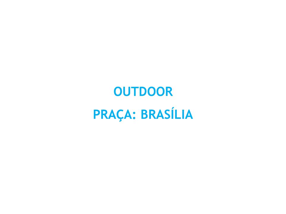 LOCALIZAÇÃO : BR 060 SENTIDO : PRÓXIMO A COCA-COLA / PLAYTIME / FUTEBOL ZICO – TAGUATINGA FORMATO : 9 X 3 M, CADA