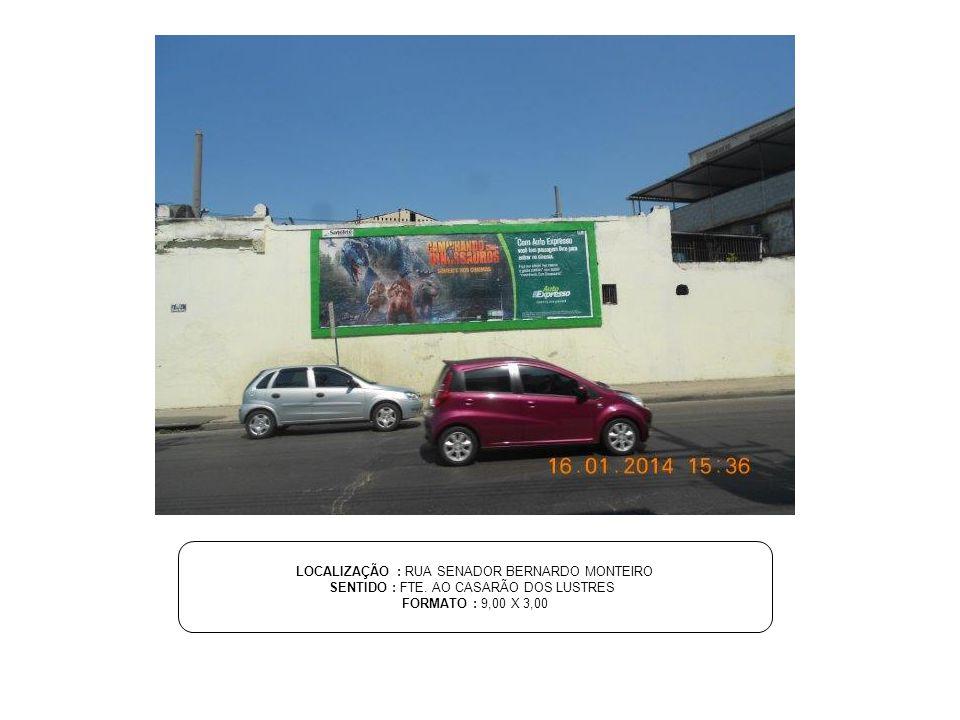 LOCALIZAÇÃO : AV.VICENTE DE CARVALHO, 1086 SENTIDO : 1ª TAB - PROX.