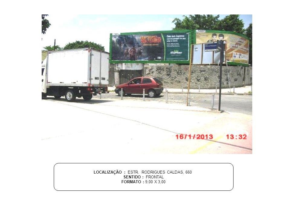 OUTDOOR PRAÇA: SALVADOR - BA