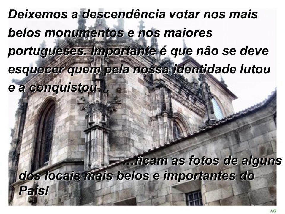 Aqui se guardam os documentos mais importantes do nosso País…os que deram origem ao país que hoje chamamos …PORTUGAL!!