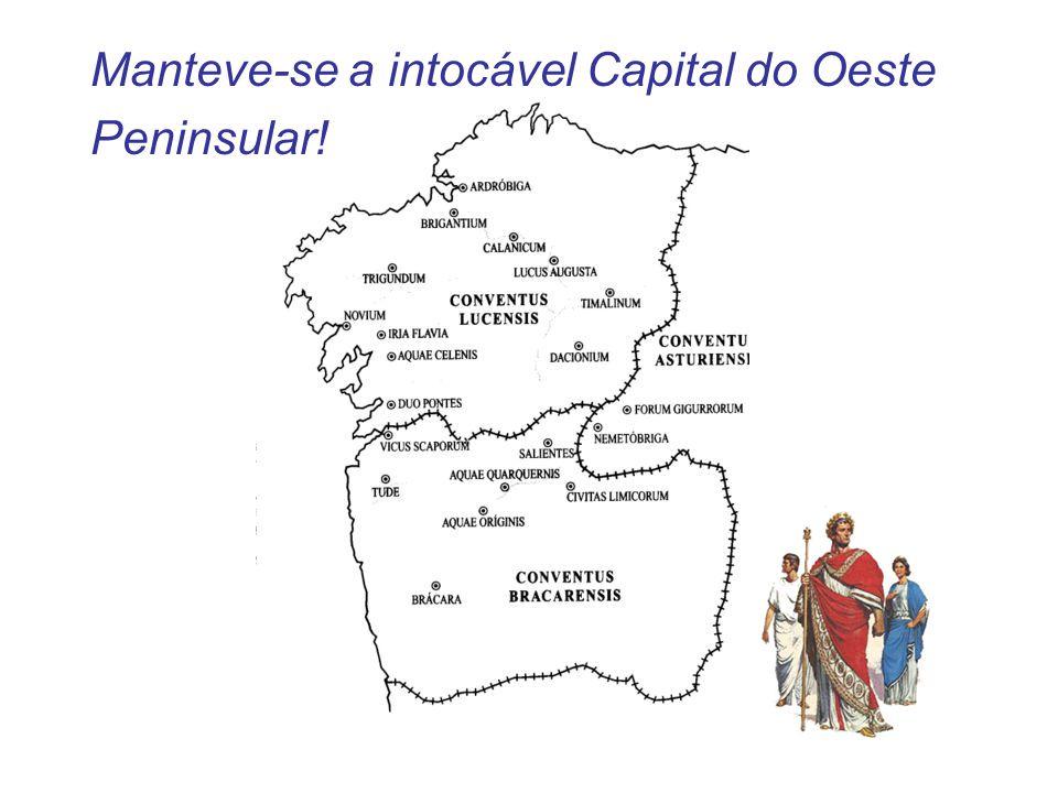 Manteve-se a intocável Capital do Oeste Peninsular!