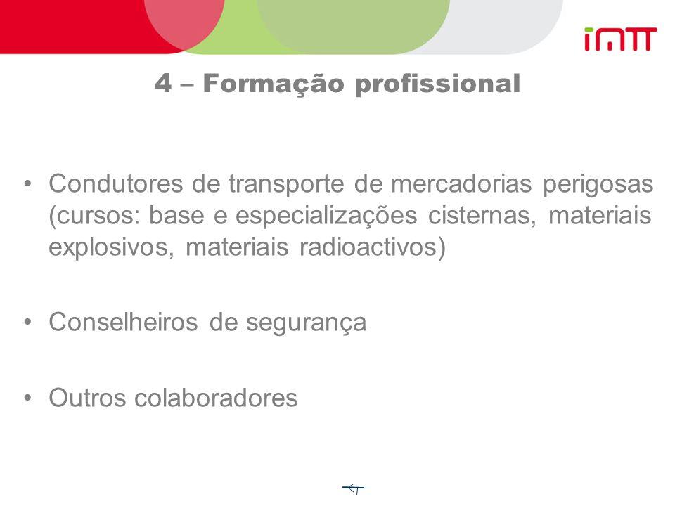 3- Isenções As isenções totais podem estar ligadas a: Natureza da operação de transporte (1.1.3.1) Transporte de gás (1.1.3.2); Carburantes líquidos (
