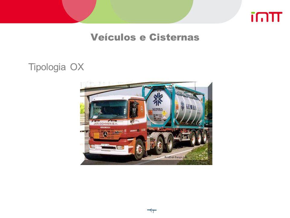 Veículos e Cisternas Tipologia FL Transporte em Cisternas fixas ou desmontáveis CGEM Veículos - bateria