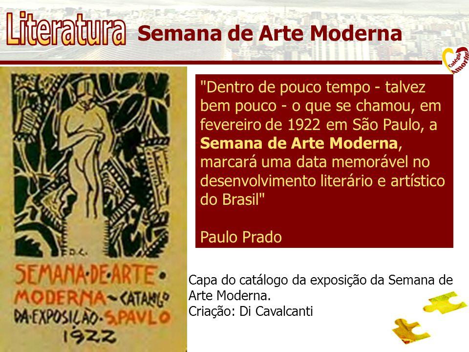 Semana de Arte Moderna Capa do catálogo da exposição da Semana de Arte Moderna.
