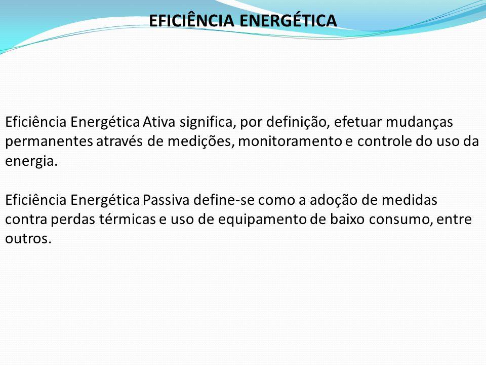 Eficiência Energética Ativa significa, por definição, efetuar mudanças permanentes através de medições, monitoramento e controle do uso da energia. Ef