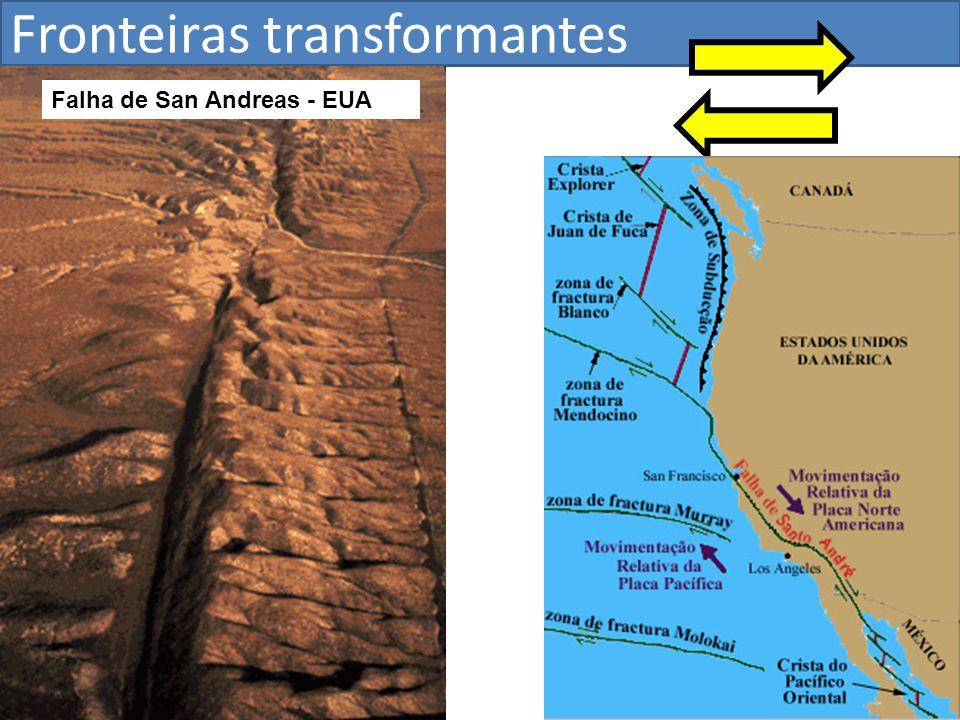 Falha de San Andreas - EUA