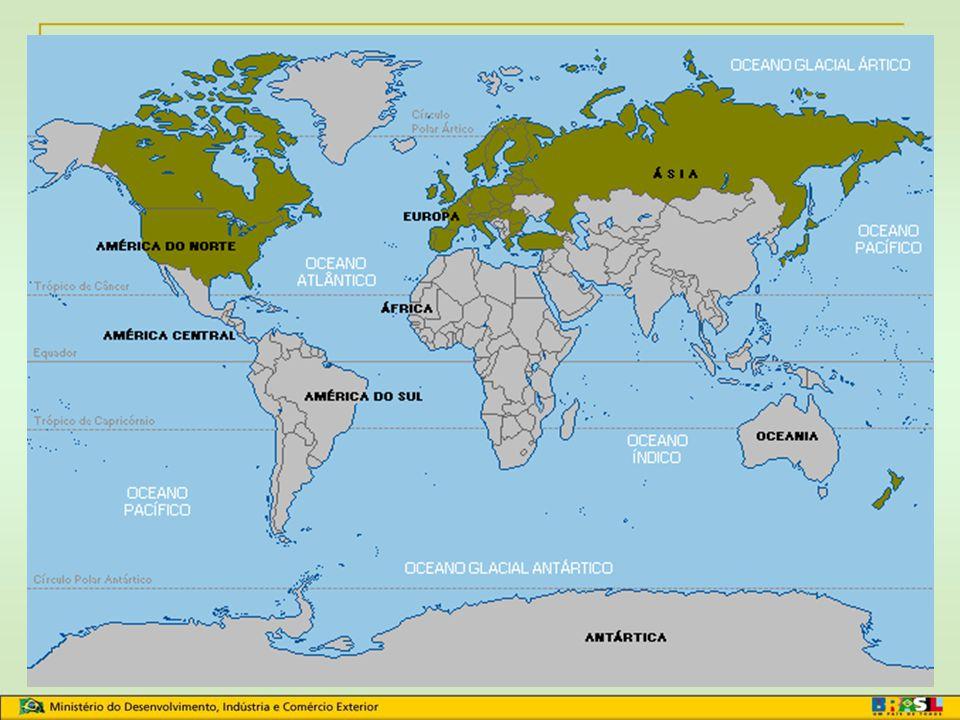 Países concedentes/outorgantes: 27 Estados-Membros da União Européia Estados Unidos (inclusive Porto Rico) Rússia Belarus Japão, Suíça, Turquia, Norue
