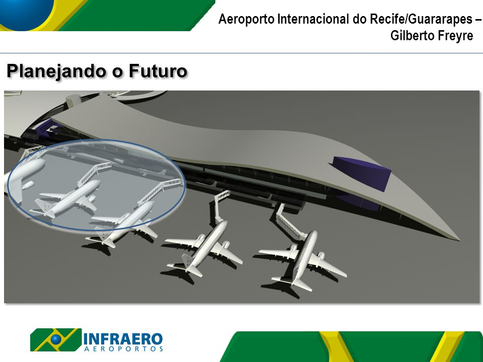 Planejando o Futuro Aeroporto Internacional do Recife/Guararapes – Gilberto Freyre |