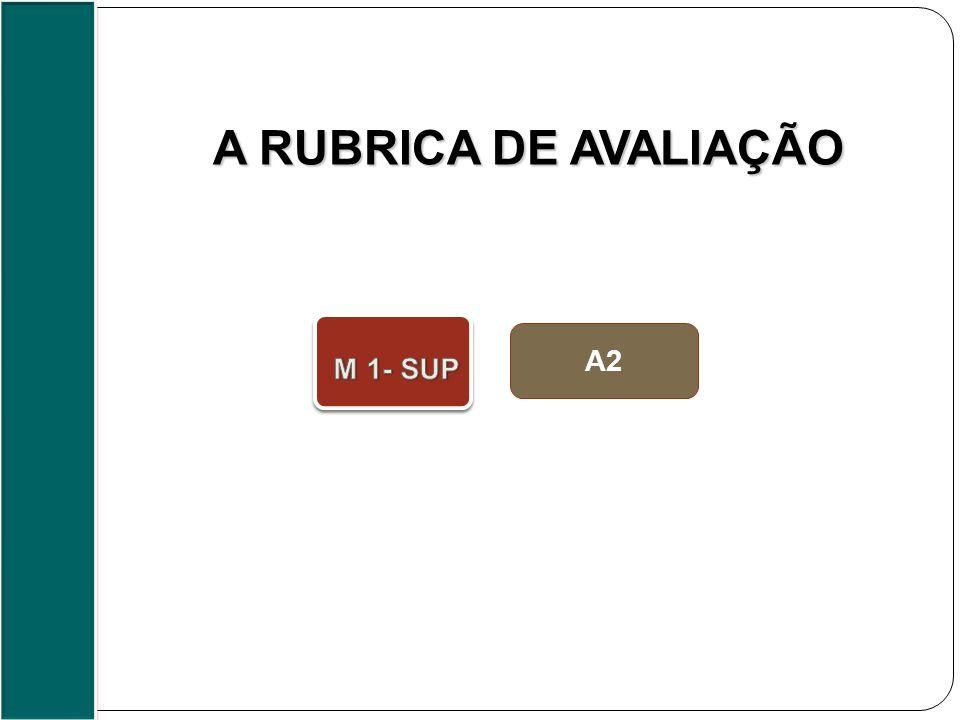 A2 A RUBRICA DE AVALIAÇÃO