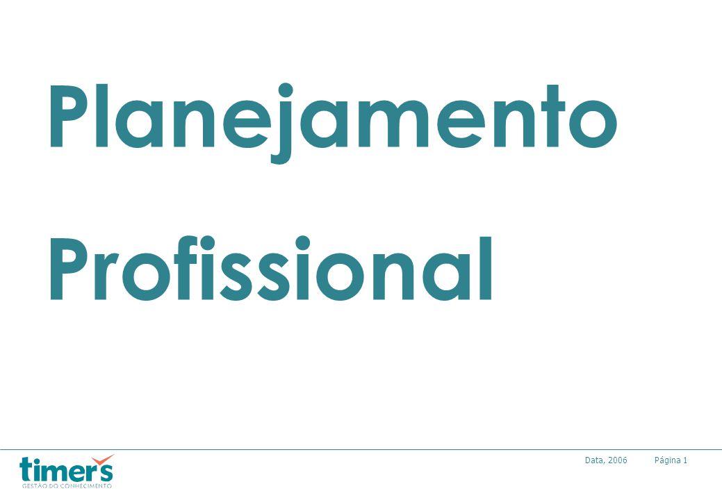 Página1Data, 2006 Planejamento Profissional