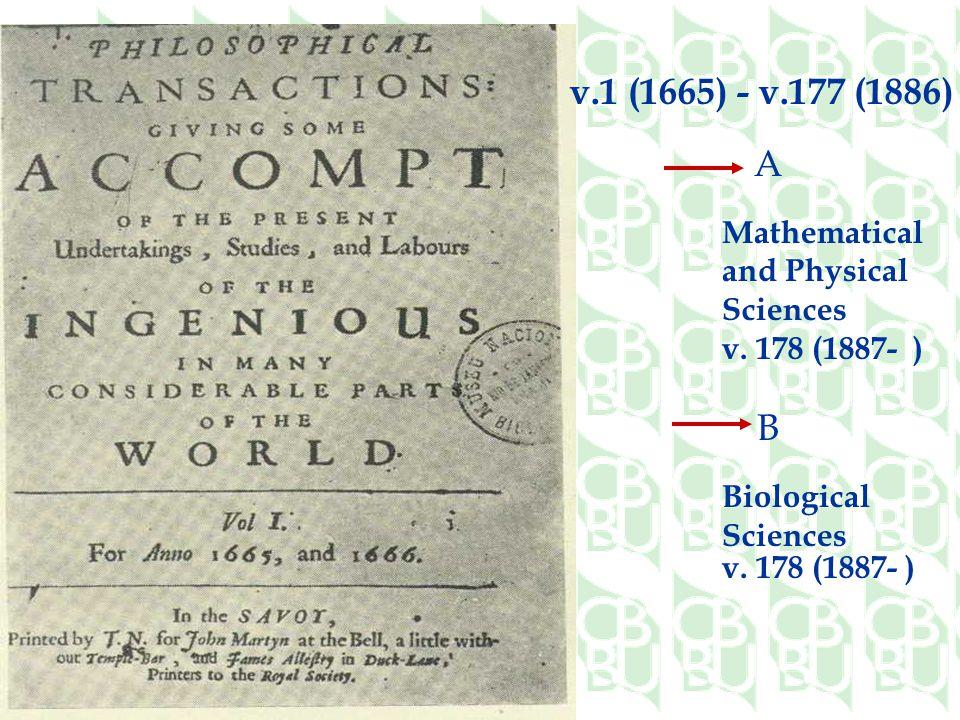 B Biological Sciences v.