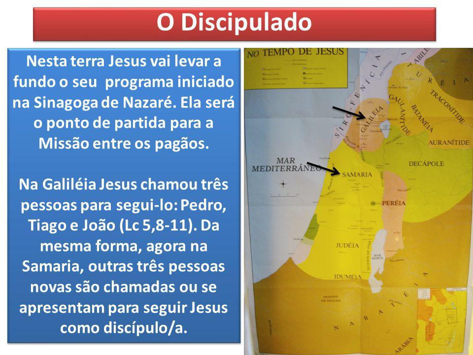 Nesta terra Jesus vai levar a fundo o seu programa iniciado na Sinagoga de Nazaré.