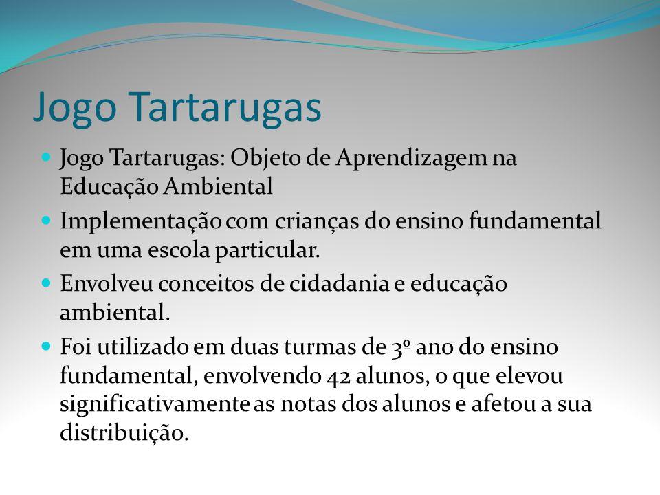 Jogo Tartarugas Jogo Tartarugas: Objeto de Aprendizagem na Educação Ambiental Implementação com crianças do ensino fundamental em uma escola particula