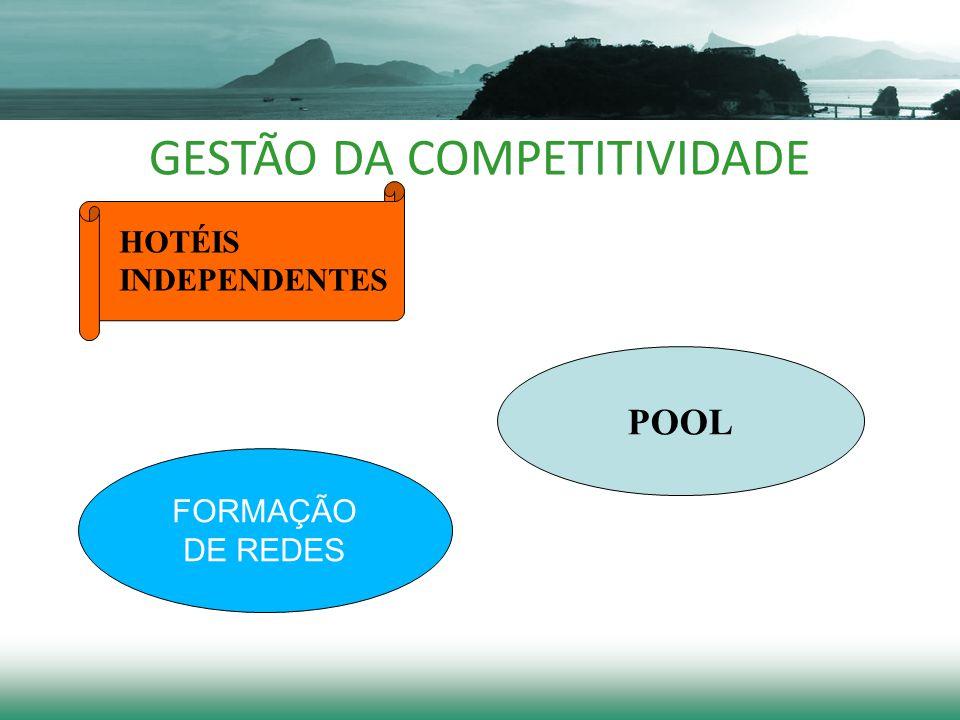 GESTÃO DA COMPETITIVIDADE HOTÉIS INDEPENDENTES POOL FORMAÇÃO DE REDES