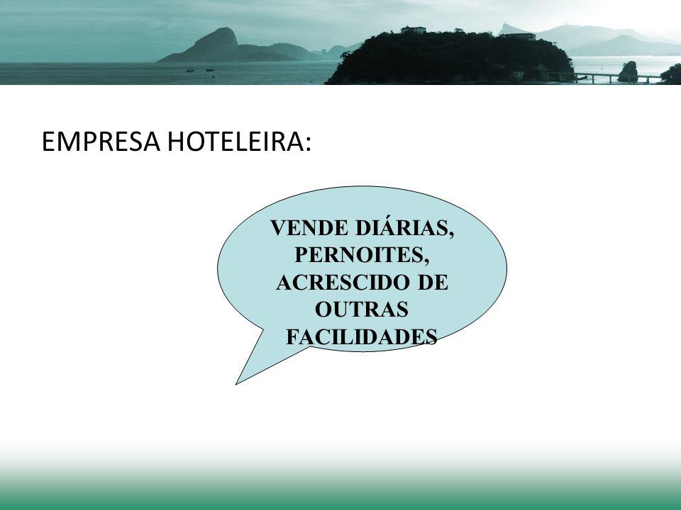 EMPRESA HOTELEIRA: VENDE DIÁRIAS, PERNOITES, ACRESCIDO DE OUTRAS FACILIDADES