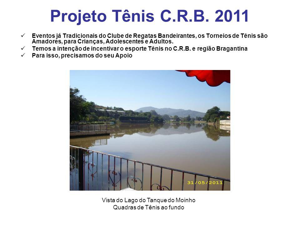 Eventos já Tradicionais do Clube de Regatas Bandeirantes, os Torneios de Tênis são Amadores, para Crianças, Adolescentes e Adultos.